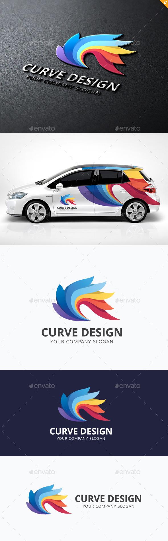 GraphicRiver Curve Design 11937990