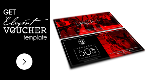 Collection Of Elegant Voucher Template