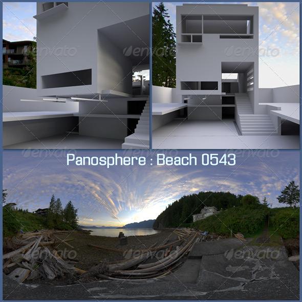 3DOcean Panosphere HDRI Beach 0543 1198988