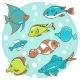 8 Fish - GraphicRiver Item for Sale