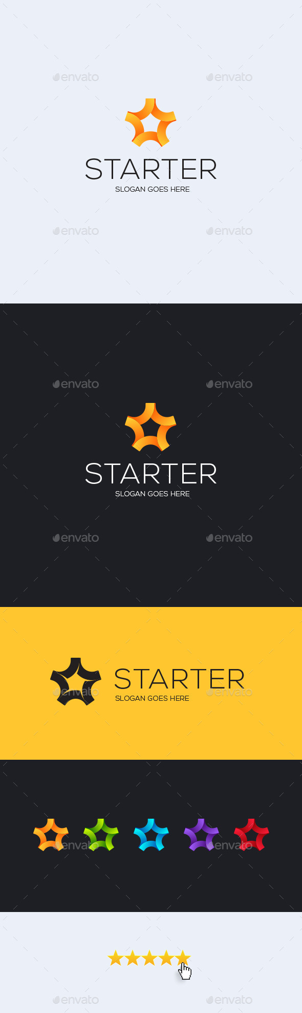 GraphicRiver Starter Logo Template 11946991