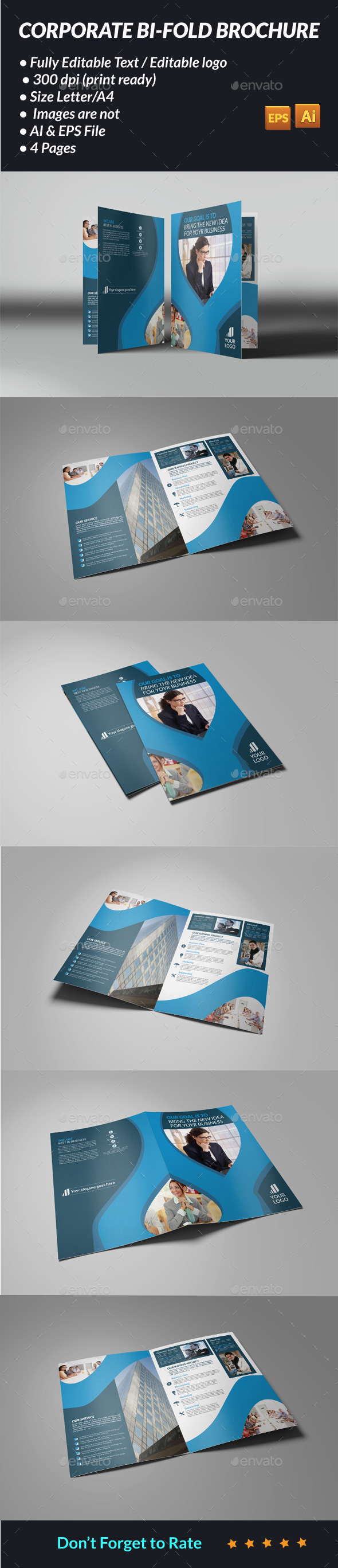GraphicRiver Corporate Bi-fold Brochure 11947052