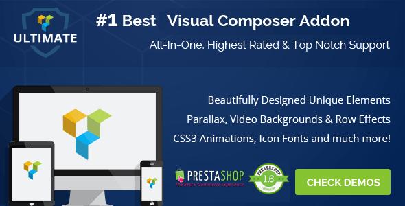 CodeCanyon Ultimate Addons for Prestashop Visual Composer 11947550