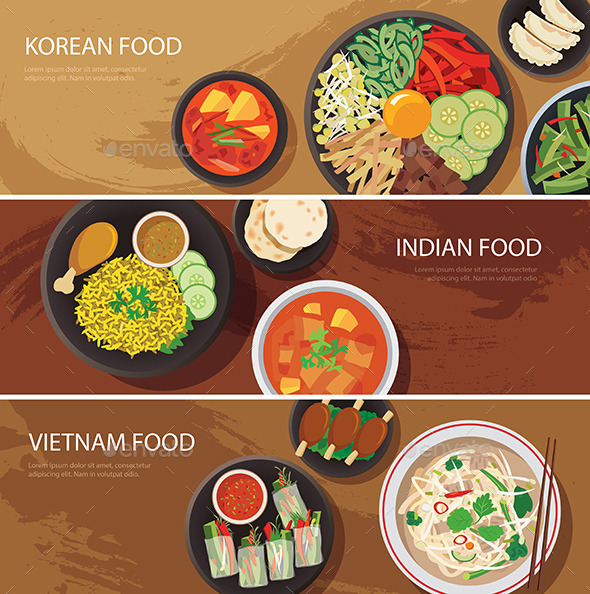 GraphicRiver Asia Street Food Web Banner 11947712