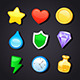 Game Art Design Icons - GraphicRiver Item for Sale