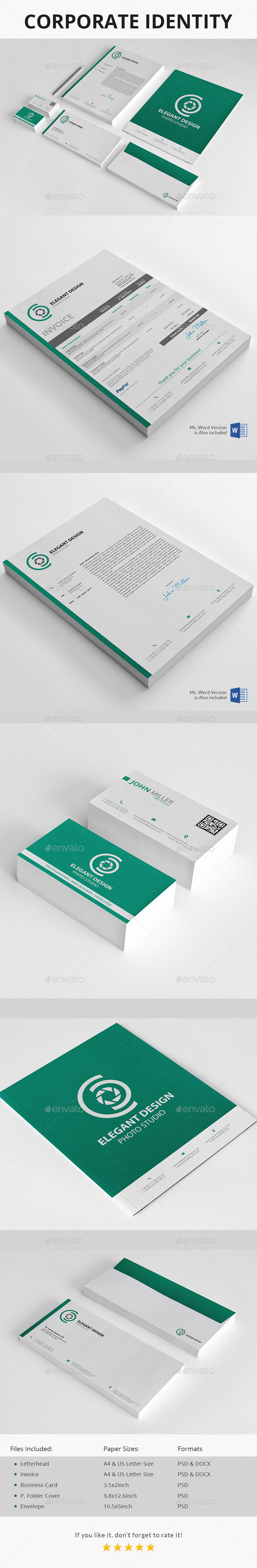 GraphicRiver Corporate Identity 11948360