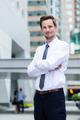 Caucasian businessman portrait - PhotoDune Item for Sale