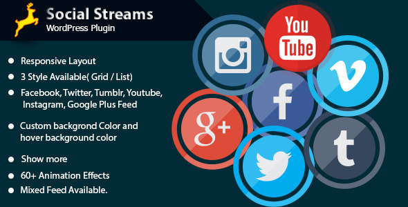 CodeCanyon Social Stream for WordPress 11948779