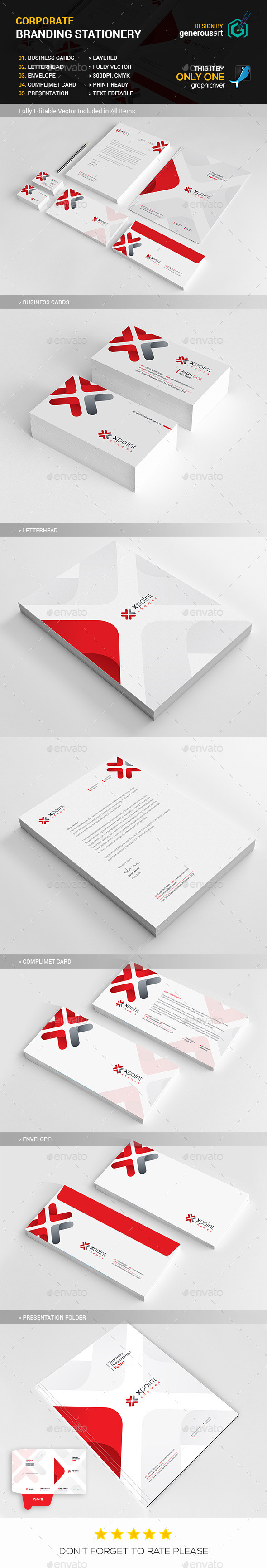 GraphicRiver Branding Stationery 2 11949160