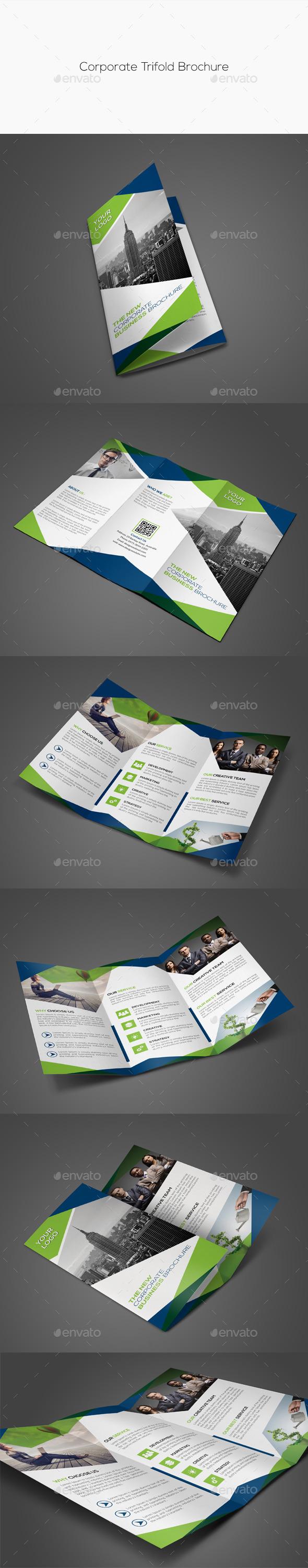 GraphicRiver Corporate Trifold Brochure 11949189