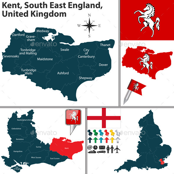 GraphicRiver Kent South East England UK 11949212