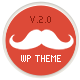 Mustache - Onepage Retina WordPress Theme - ThemeForest Item for Sale