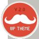 Mustache - Onepage Retina WordPress Theme