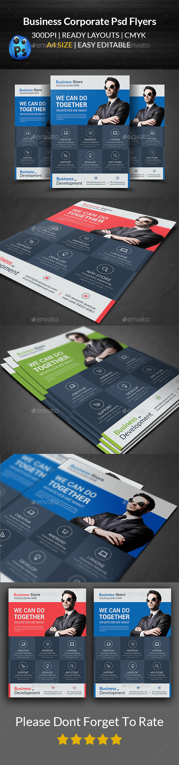 GraphicRiver Business Corporate Flyers 11949688