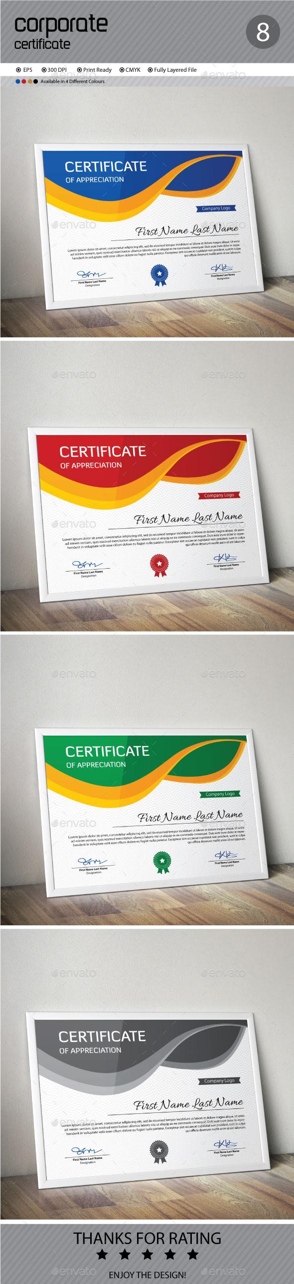 GraphicRiver Certificate 11950399