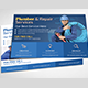 Plumber Service Postcard Template - GraphicRiver Item for Sale