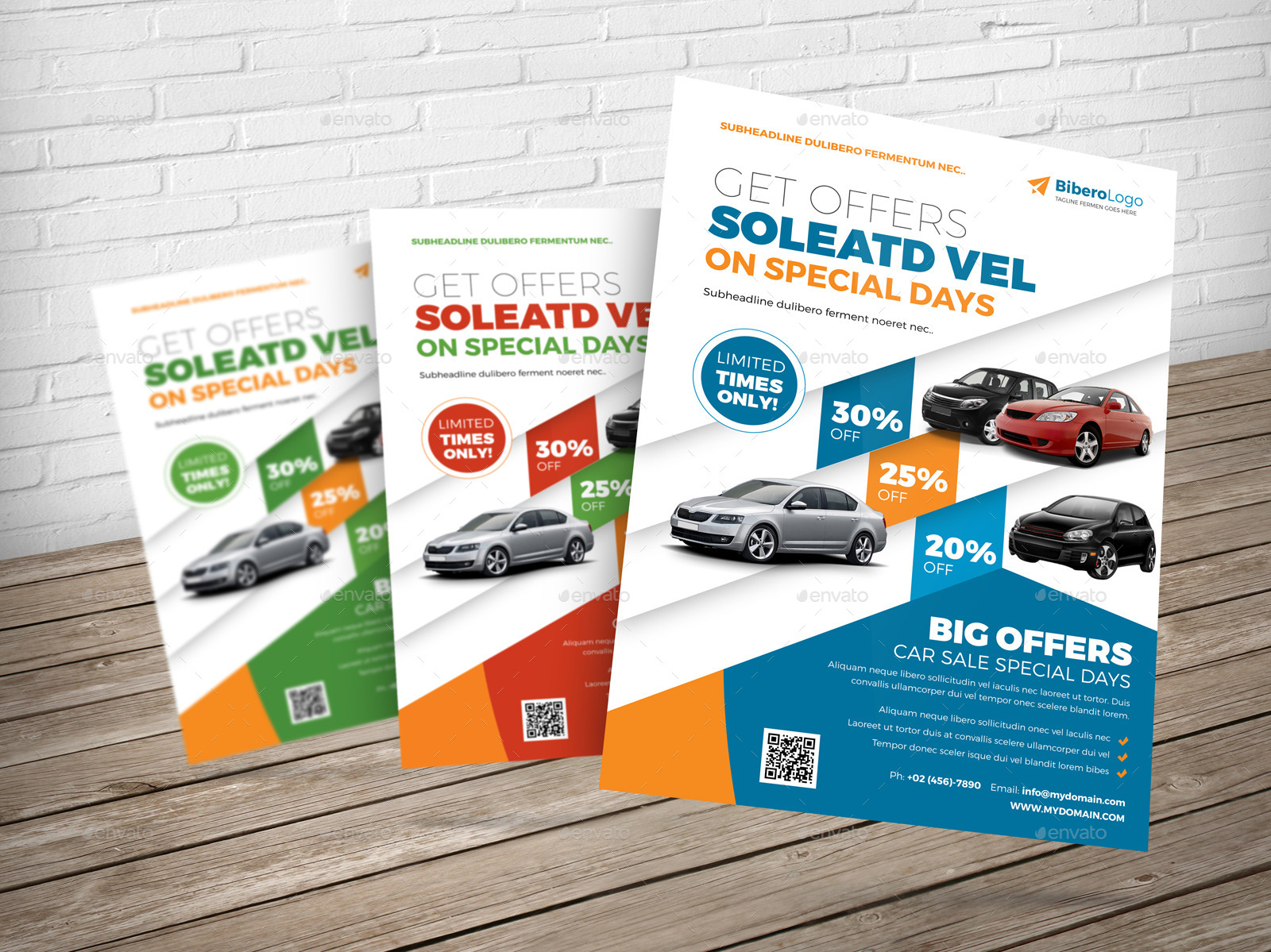 Automotive Car Flyer Ad Indesign Template by JbnComilla – Car Ad Template