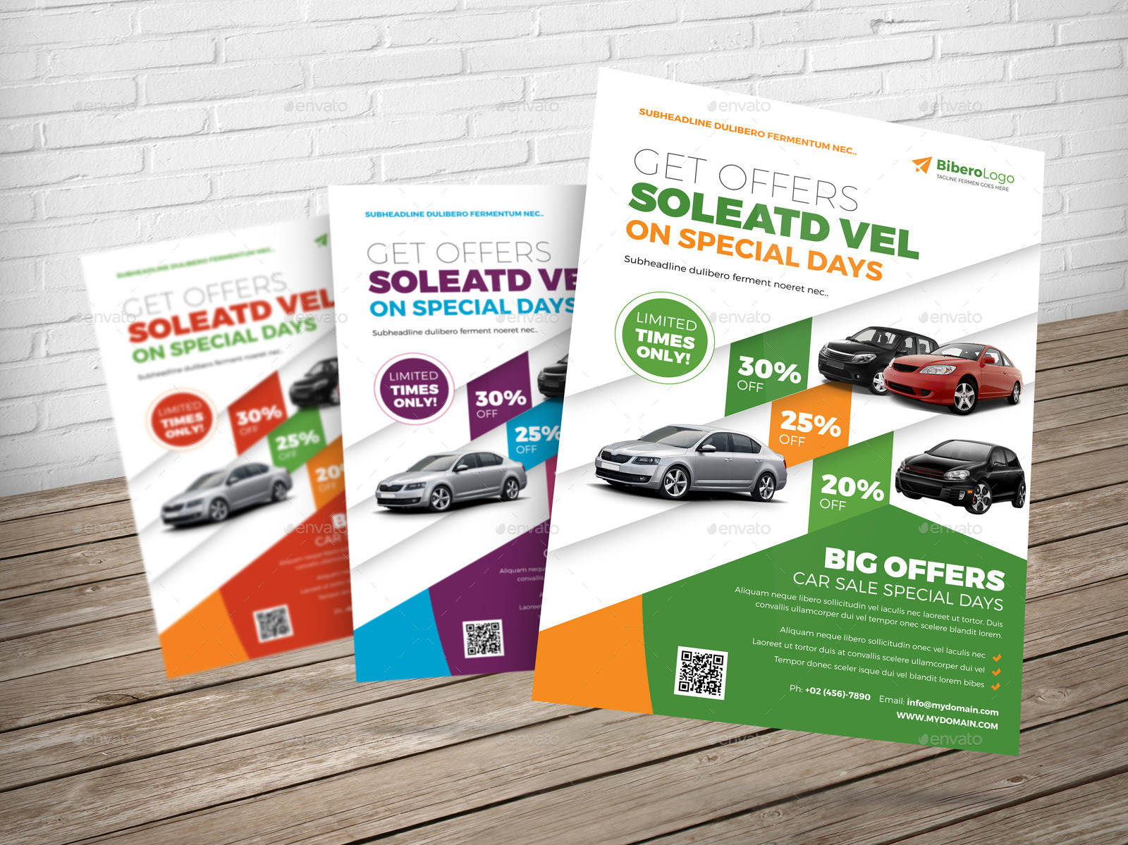 Automotive Car Flyer Ad Indesign Template by JbnComilla – Car Sale Flyer