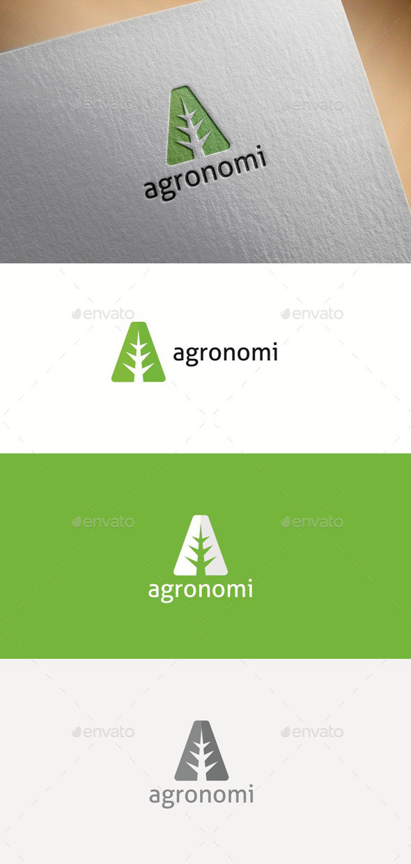 GraphicRiver Agronomy Letter A 11950607