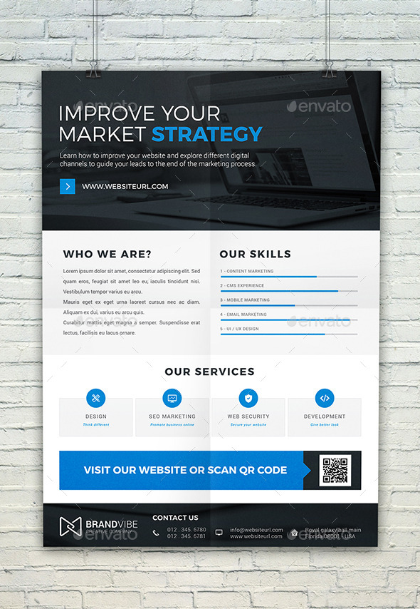GraphicRiver Corporate Flyer Template 11950621