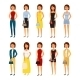 People Character Set - GraphicRiver Item for Sale
