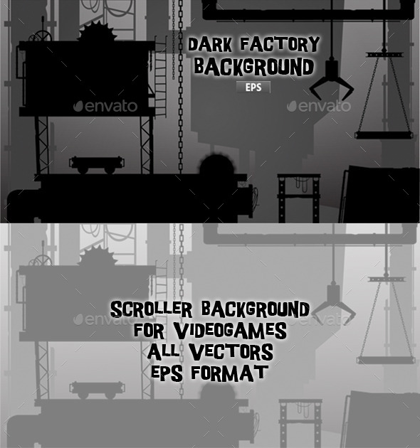GraphicRiver Dark Factory 11861187
