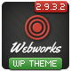 Webworks - Responsive WordPress Theme - ThemeForest Item for Sale
