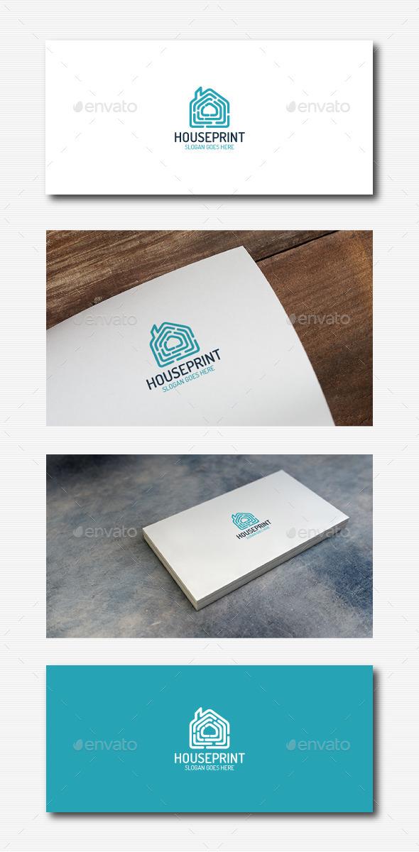 GraphicRiver Fingerprint House Logo 11951269