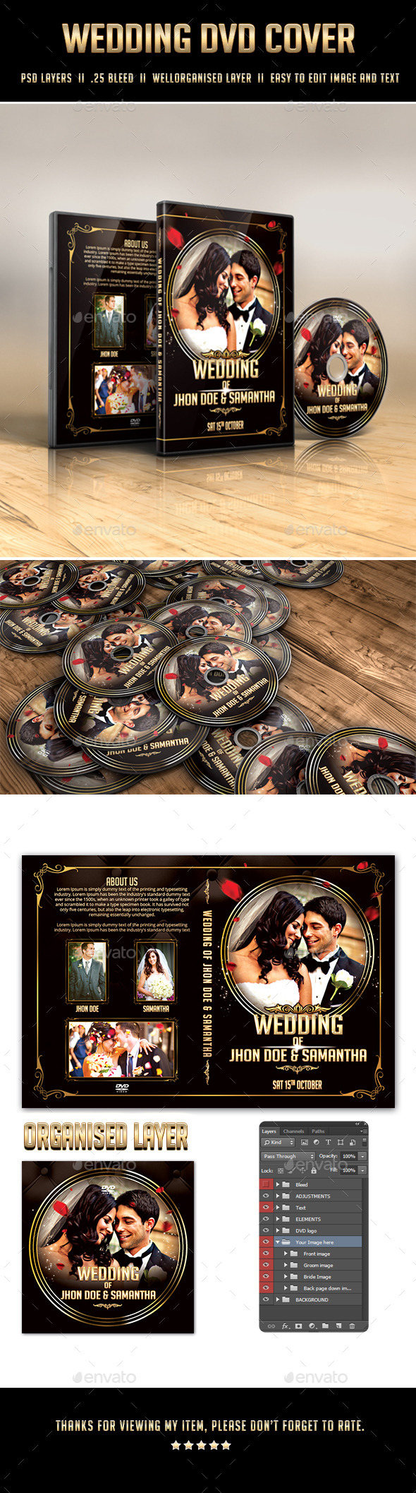 GraphicRiver Royal Wedding DVD Cover 11951602