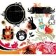 Oriental Rabbit design elements - GraphicRiver Item for Sale