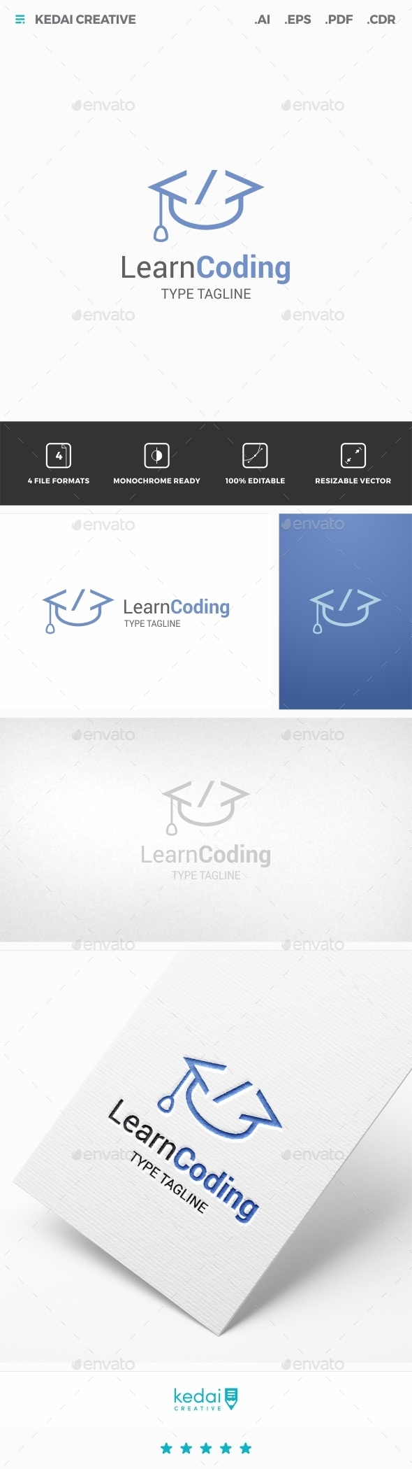 GraphicRiver Learn Coding 11952043