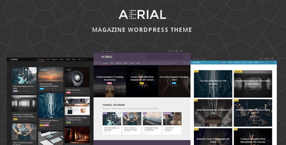 Aerial – Layers Magazine WordPress Theme (Blog / Magazine) Download