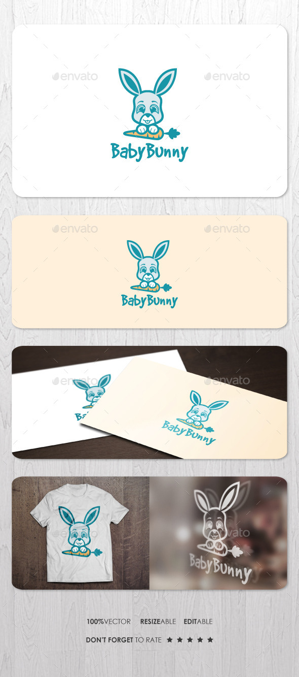 GraphicRiver Baby Bunny 11952525