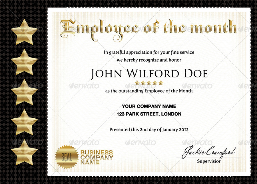 Business & Company Certificates by ShermanJackson