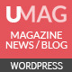 UMag - Responsive WordPress News / Magazine Theme