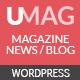 UMag - Responsive WordPress News / Magazine Theme