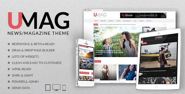 UMag – Responsive WordPress News / Magazine Theme (Blog / Magazine) Download