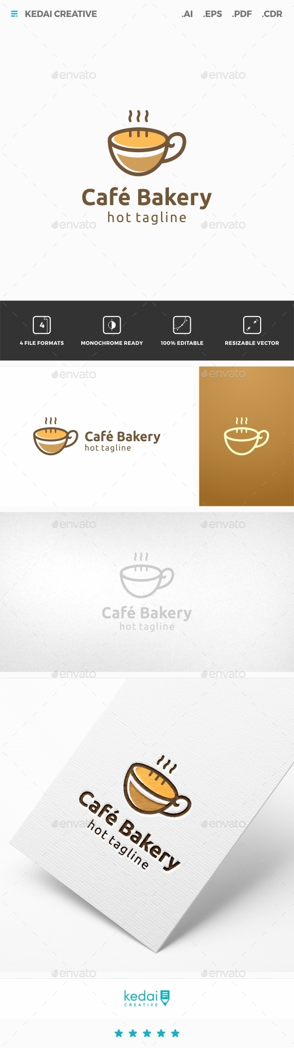 GraphicRiver Cafe Bakery 11953579