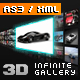 Infinite 3D Gallery - XML driven - ActiveDen Item for Sale