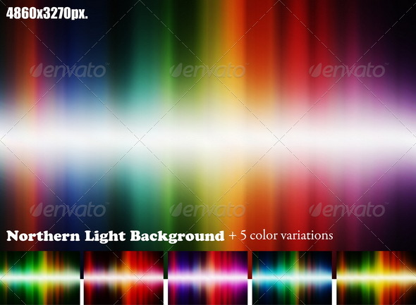 GraphicRiver Northern Light Background 97234