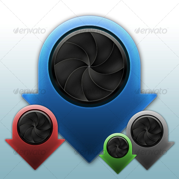 GraphicRiver ShutterDown Icon 48449