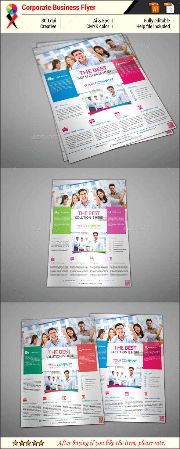 GraphicRiver Corporate Business Flyer 11954731