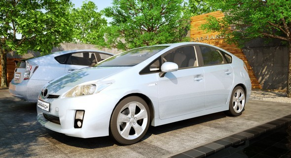 3DOcean Toyota Prius CAR4ARCH Vol.1 11954888