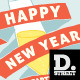 New Years Party Card - GraphicRiver Item for Sale