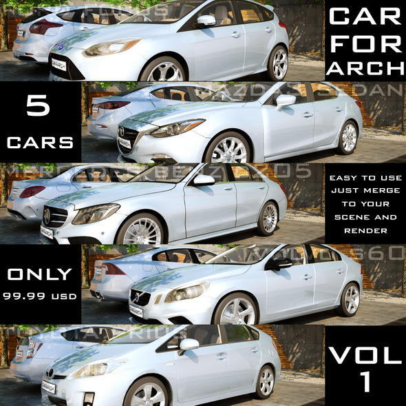 3DOcean CAR4ARCH Vol.1 11955355