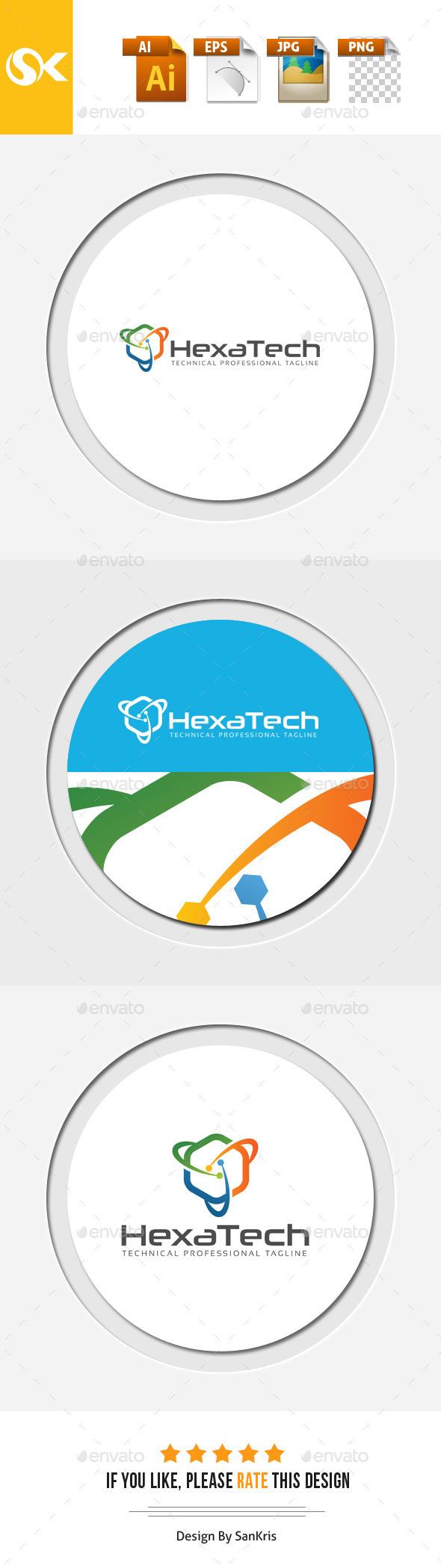 GraphicRiver Hexa Technology 11955604