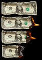 Burning dollars - PhotoDune Item for Sale