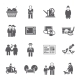 Pensioners Life Icons Set - GraphicRiver Item for Sale