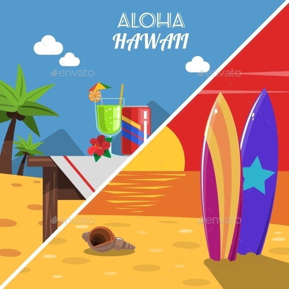 GraphicRiver Beach Banner Set 11956347