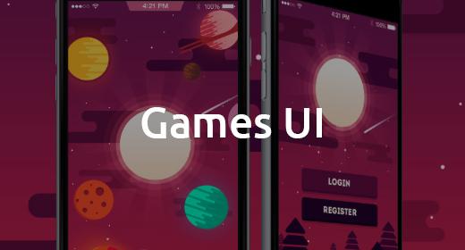 Games UI Design